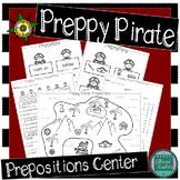 Preppy Pirate Prepositions- A Center Activity