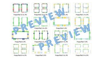 Preppy Plaid Frames