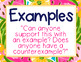 Preppy Tropical Lilly Talk Moves Posters for Classroom Discussions