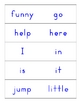 Preprimer Dolch Sight Word Flashcards