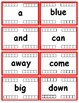 Preprimer Dolch Sight Word Flash Cards with Data Tracking