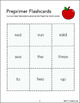 Pre Primer Flash Cards - Dolch Words