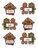 Preprimer Gingerbread Sight Word Memory Game