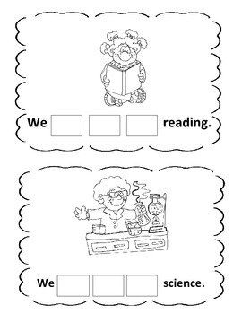 Preprimer Sight Word Books Vol 5