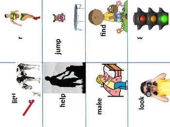 Preprimer Sight Word Flashcards With Pictures