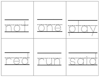 Preprimer Sight Word Mini Bundle