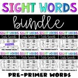 Preprimer Sight Words Bundle