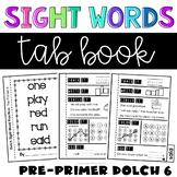Preprimer Sight Words Worksheets
