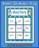 "Preprimer Words  ""Word Party"""
