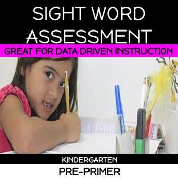 Preprimer dolch assessment
