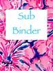 Prepy Binder Covers