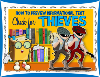 Before Reading Strategy for Nonfiction Texts- THIEVES