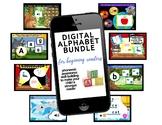 Digital Alphabet Bundle - BOOM cards Great for Distance Learning!
