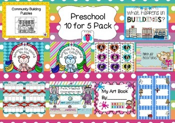 Preschool 10 for 5 Bundle