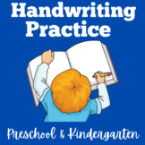 Handwriting Practice for Kindergarten | Preschool