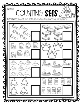 Kindergarten Review Worksheets