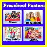 Preschool Bulletin Board Posters | Kindergarten