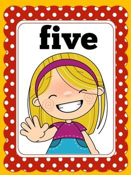Preschool Math Posters   Preschool Number Posters   Pre K