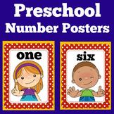 Number Posters   Preschool Kindergarten   Preschool Classroom Decor