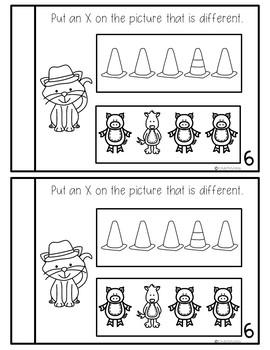 Preschool Math Journal August