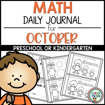 Preschool Math Journal October