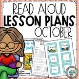 Preschool Read Aloud Lesson Plans for October