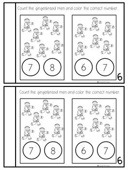 Preschool Math Journal December