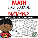 Preschool Math Journal December
