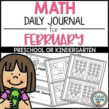Preschool Math Journal February