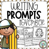 November Writing Prompts Preschool