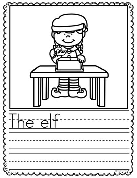 December Writing Prompts Preschool