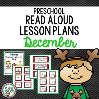 Read Aloud Lesson Plans for December - Preschool