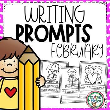 FEBRUARY WRITING PROMPTS PRESCHOOL