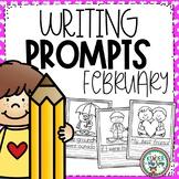 Preschool Writing Prompts February