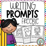 Preschool Writing Prompts (Jan, Feb, March) FREEBIE