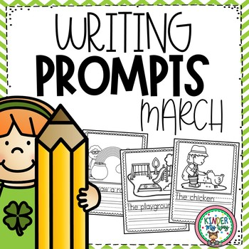March Writing Prompts Preschool