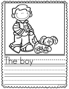 March Writing Prompts Preschool