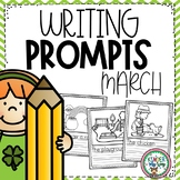 Writing Prompts for March | March Activities | March Writing Centers
