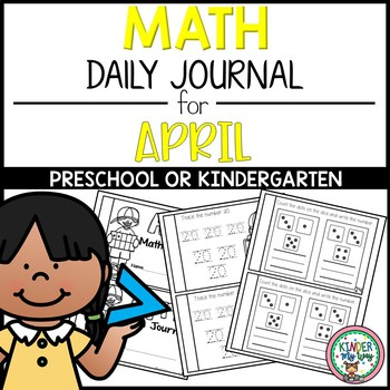 Preschool Math Journal for April