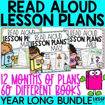 Read Aloud Lesson Plans Preschool - The Bundle