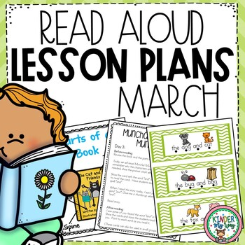 Read Aloud Lesson Plans for March