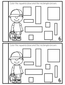 Preschool Math Journal July