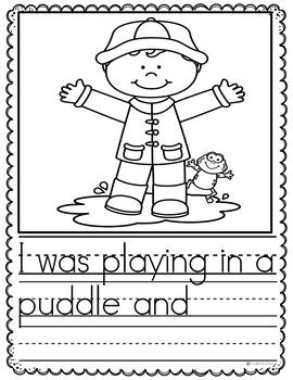 April Writing Prompts Preschool