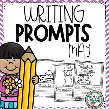 May Writing Prompts {PRESCHOOL}
