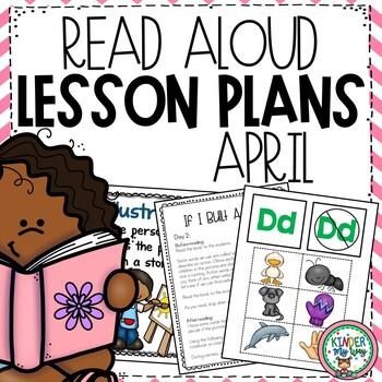Read Aloud Activities | April Activities