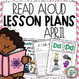 April Read Alouds | PreK Kindergarten Read Aloud Lessons & Activities
