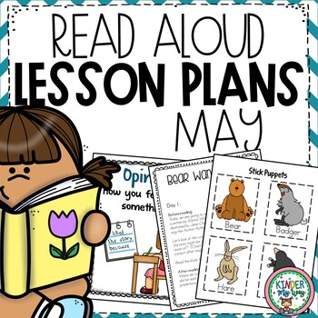 May Read Aloud Lesson Plans {PRESCHOOL}
