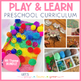 Preschool & Tot School: 37+Week Theme & Book Based Curriculum