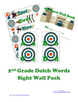 Preschool - 3rd Grade Dolch Words Sight Wall Bundle