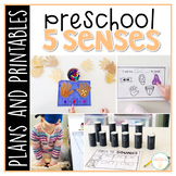 Preschool: 5 Senses {Plans and Printables}